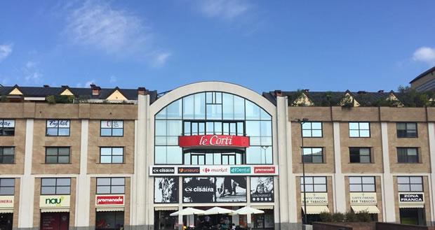 Centro commerciale Le Corti