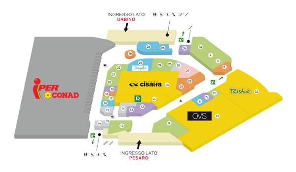 924012d51f16 Iper Rossini Pesaro, orari, negozi e volantini - Aperture centri ...